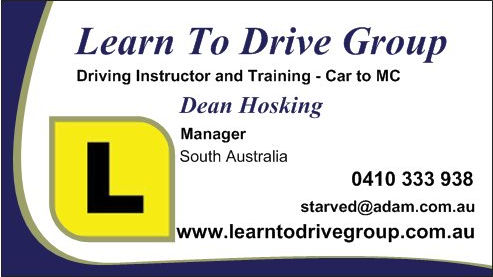 Learn To drive Group Business Card